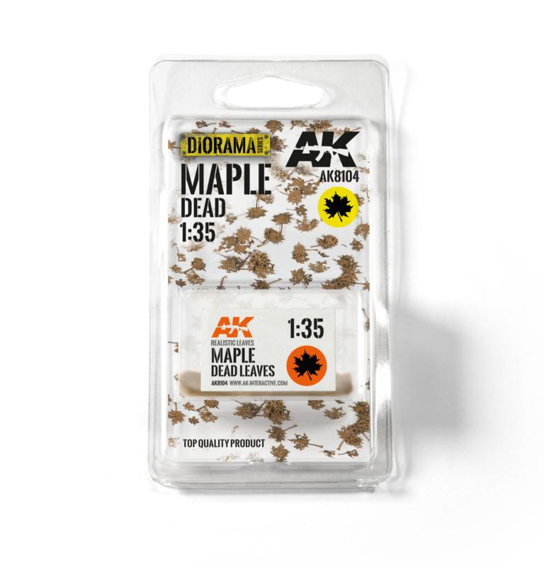 AK8104 Maple dead leaves 1:35