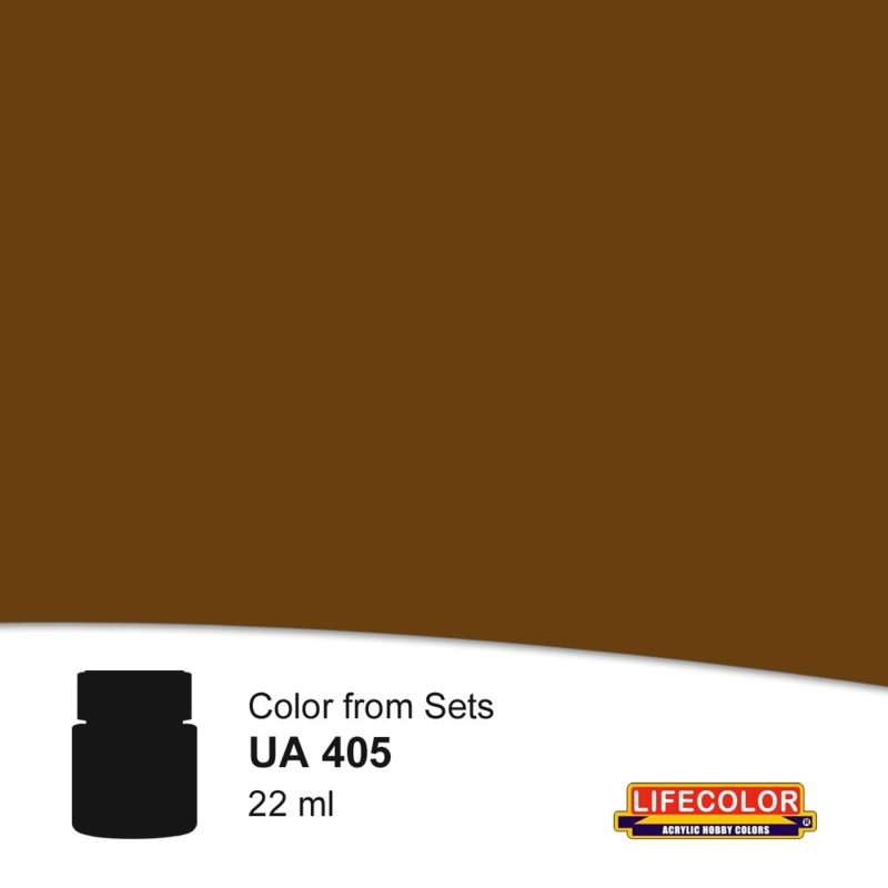 UA405 BROWN SERVICE SHIRT