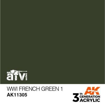AK11305 WWI French Green 1