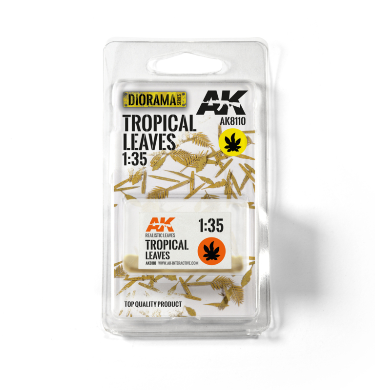 AK8110 Tropical leaves 1:35