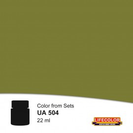 UA504 	LifeColor Grau rlm 02 FS34201 (22ml) (from set CS06)