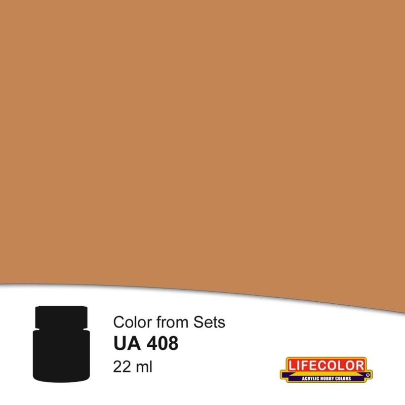 UA408 LIGHT BROWN