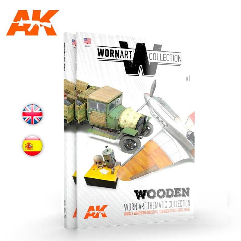 AK4901 Worn Art Collection Number 1 (Wooden)