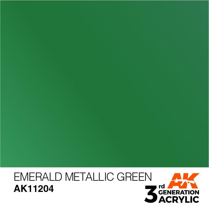 AK11204 EMERALD METALLIC GREEN – METALLIC