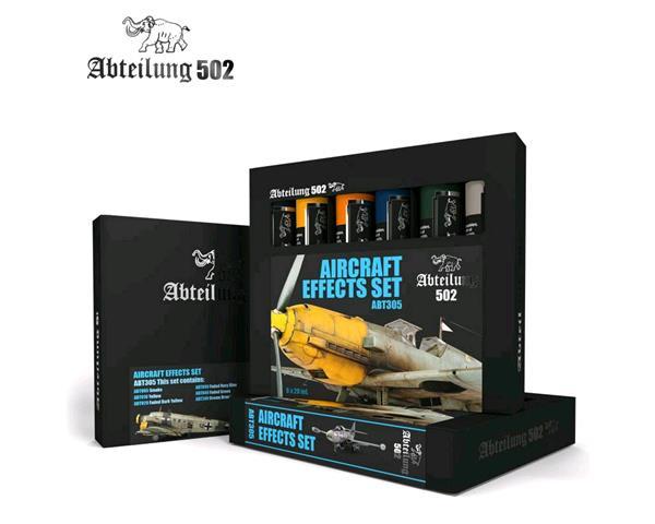 ABT305 Abteilung 502 Aircraft effects set (6 Oil Colors)