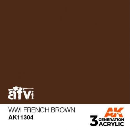 AK11304 WWI French Brown
