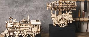 LG501 Robotime Marble Parkour (Houten puzzel/Kit)
