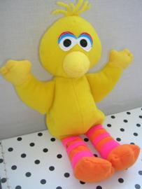 Sesamstraat Pino vogel knuffel geel | Tyco