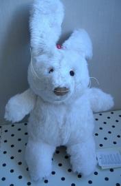 Borderline Bunny konijn knuffel wit | Happy Horse