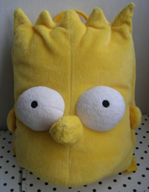 Bart Simpson knuffel rugzak geel | The Simpsons