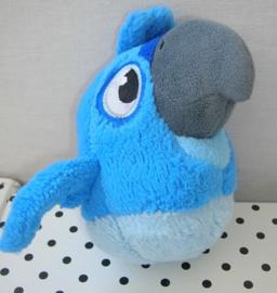 Angry Birds RIO knuffel vogel blauw met geluid