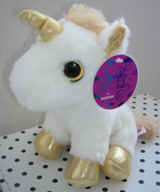 Eenhoorn unicorn knuffel goud | Sparkle Tales Aurora