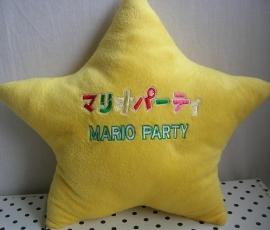 Ster kussen Super Mario Party