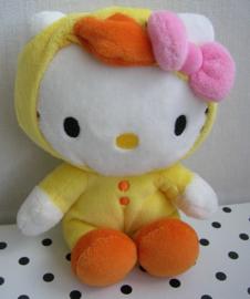 Hello Kitty knuffel geel verkleedpakje | Sanrio