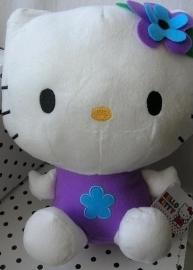 Hello Kitty knuffel met vleugeltjes paars | Sanrio