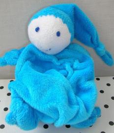 Knuffeldoek softdoek blauw | Difrax