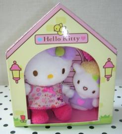 Hello Kitty knuffel met vriendje | Sanrio