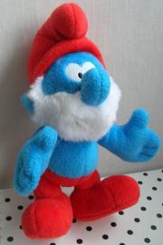 Grote Smurf  knuffel   The Smurfs Peyo