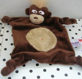 Aap knuffeldoekje bruin | Prenatal