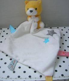 Knuffeldoekje met beer en sterren | Hema