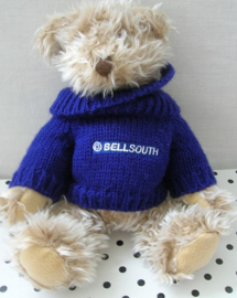 Bellsouth beer knuffel in truitje | Chandler
