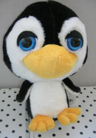 Pinguin knuffel zwart | Ocean Buddies TCC Big Headz