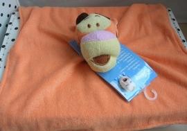 Teigetje Tigger Disney Baby knuffeldoek oranje vierkant