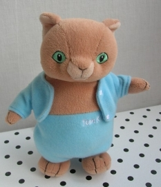 Peter Rabbit  knuffel Tom Kitten poes | Augusta du Bay
