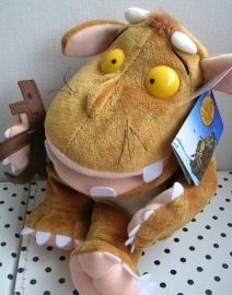 Kind van de Gruffalo knuffel handpop met Stickman | Aurora
