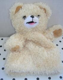 Robijntje beer knuffel handpop