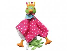 Kip Chick knuffeldoek roze | Dushi