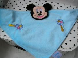 Mickey Mouse Disney knuffeldoek blauw | Disney Baby