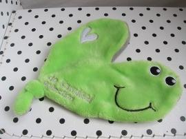 Knuffeldoekje Willem groen | De Kandeel