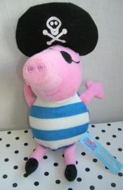 Peppa Pig knuffel als piraat | PMS