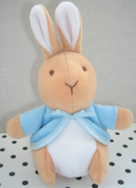 Peter Rabbit  konijn knuffel rammelaar | Beatrix Potter Eden