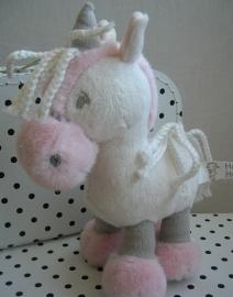 Eenhoorn unicorn knuffel wit | Happy Horse