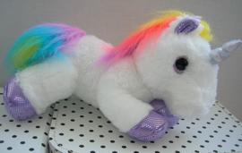 Eenhoorn unicorn regenboog knuffel | Sparkle Tales Dazzle Aurora