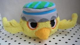 Angry Birds RIO knuffel vogel Nico geel met geluid