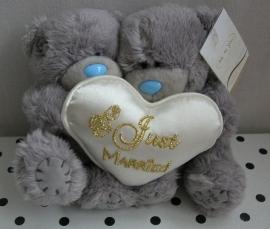 Bruidspaar Just Married knuffel set beren | Me to You G01W1547