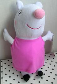 Peppa Pig knuffel in roze jurkje | Play by Play