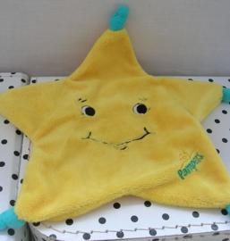 Ster knuffeldoek geel | Pampers