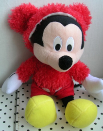 Mickey Mouse Disney knuffel rood