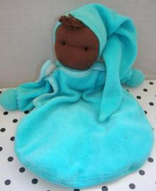 Knuffelpop blauw donker hoofdje | Peppa Babylonia