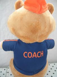 Hamster  knuffel voetbal coach   Albert Heijn