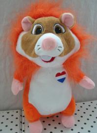 Hamster  knuffel als oranje leeuw | Albert Heijn