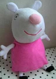 Peppa Pig knuffel varken in roze jurkje | Play by Play