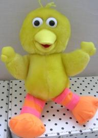 Sesamstraat  Pino vogel knuffel geel