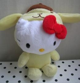 Hello Kitty knuffel verkleedpakje hond | Sanrio