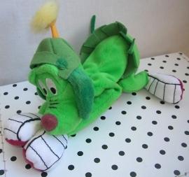 Pluto Disney knuffel hond groen | Warner Bros