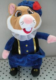 Hamster knuffel als zwarte Piet | Albert Heijn